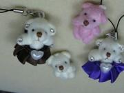 クマのチャーム 四種類